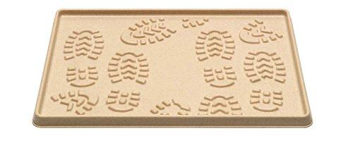 Felpudos de Goma, sintética Beige 35 x 49 x 2,0 cm