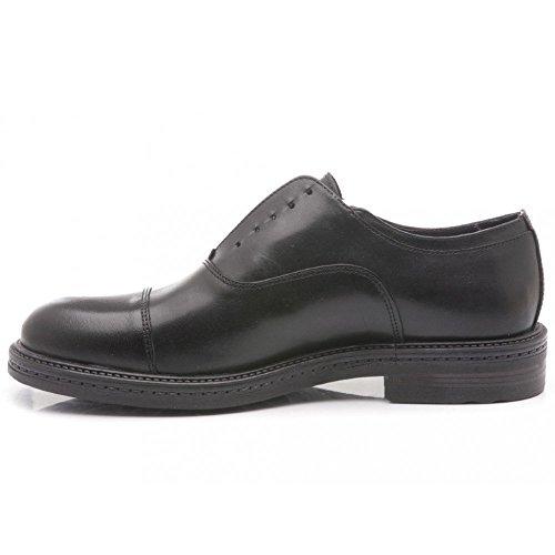 Exton scarpa elegante uomo pelle nera, 41