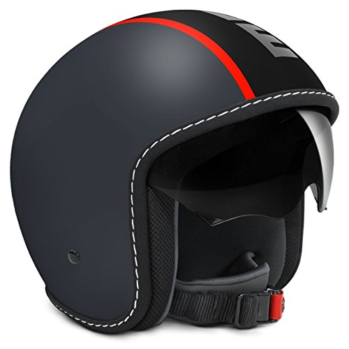 Taille S Casque Blade Rouge Jet Gris Fluo Momo Design Mat 0wnkX8ONPZ