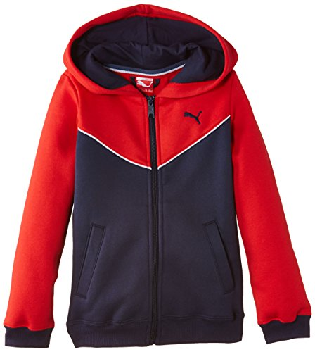 Puma Boy's Fun TD Hooded Fleece Sweat Jacket Test