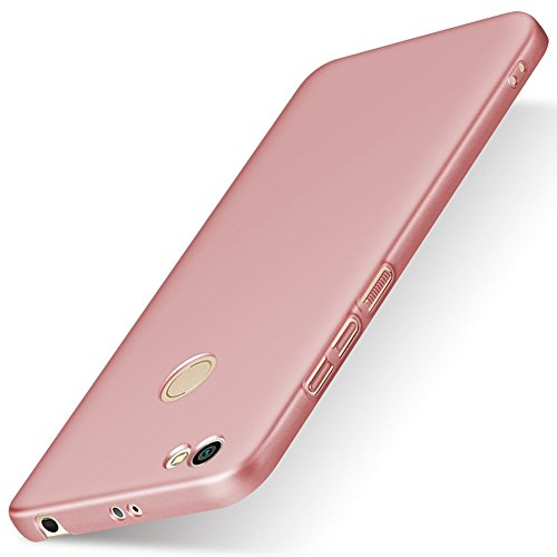 SPAK Xiaomi Redmi Note 5A Prime Custodia,Ultra Slim PC Protettiva Case Cover Custodia per Xiaomi Redmi Note 5A Prime (Rose Gold)