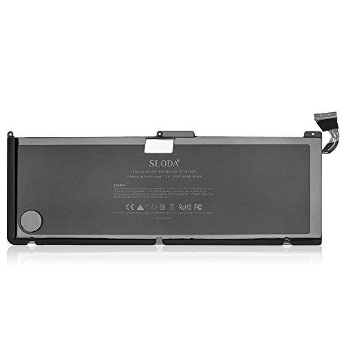 SLODA Nouvelle Batterie d'ordinateur Portable Pour Apple A1309 A1297 Unibody MacBook Pro 17