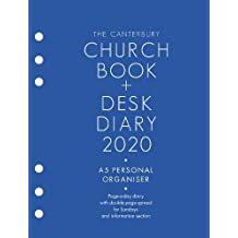 The Canterbury Church Book & Desk Diary 2020 A5 Personal Organiser Edition
