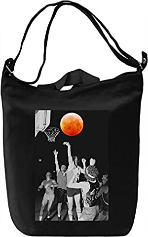 Space Basketball Leinwand Tagestasche Canvas Day Bag| 100% Premium Cotton