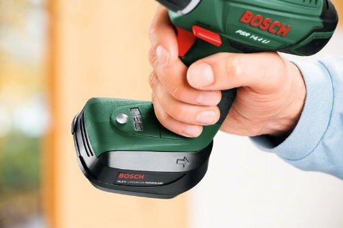 Bosch DIY Akku-Bohrschrauber PSR 14,4 LI Toolbox, 2 Akku, Ladegerät, 241 tlg. Zubehör-Set, Toolbox, Karton (14,4 V, 1,5 Ah, max. Bohr-Ø: Holz: 20 mm, Stahl: 6 mm) - 6