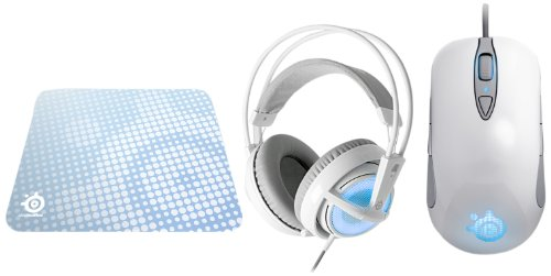 Steelseries Frost Blue Bundle Box (Headset, Maus, Mauspad) -