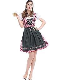 542f5f274456 Perfectii Dirndl Dress Costume Donna Dirndl Oktoberfest Carnevale Costume  Tradizionale Abito Di Halloween Cosplay Costumi Abito