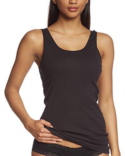 Triumph Damen Unterhemd Katia Basics Shirt02, Schwarz (Black 04), Gr. 38 (Herstellergröße: 38)