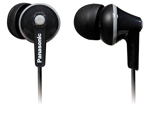 Panasonic RP-TCM125E-K In-Ear Kopfhörer (Mikrofon, Controller, 10-24.000 Hz, 1,2 m Kabel) schwarz thumbnail
