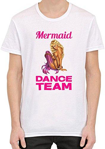 Mermaid Dance Team Slogan Männer T-Shirt XX-Large (Team-t-shirts Dance)