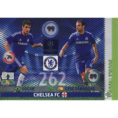 Champions League Adrenalyn XL/Oscar 2014/2015 Cesc Fabregas 14/15 Double Trouble
