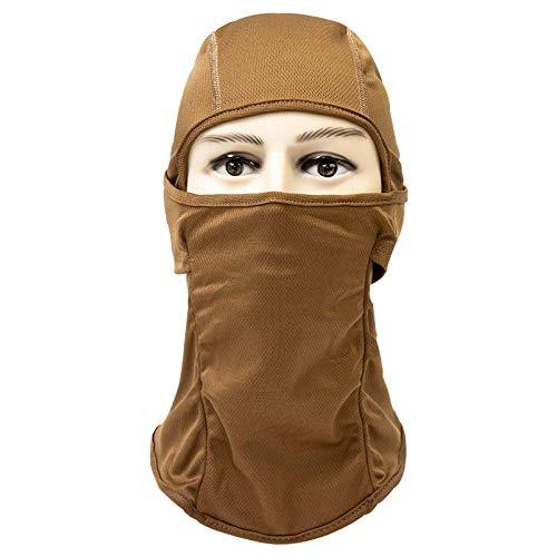 Northerncold maschera antivento maschera integrale traspirante,passamontagna ciclismo, sport all'aria aperta parabrezza-cammello,passamontagna protezione solare traspirante