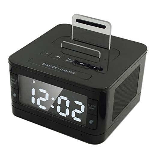 Bluetooth-Lautsprecher Nacht Wecker USB-Telefon Aufladen U Disk Play Radio Audio