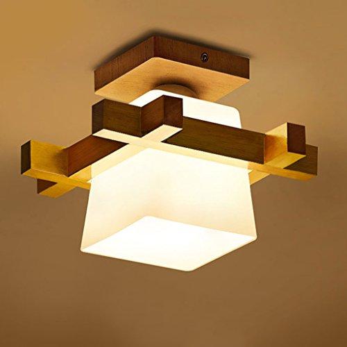 Fu Man Li Trading Company Garderobe Deckenleuchten Chinesische Stil Korridor Korridor Kreative Massivholz Lampen A+ - Chinesische Lampe