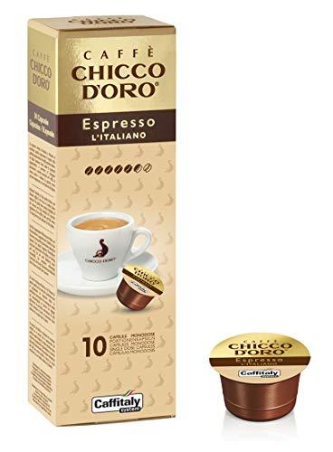 Caffitaly System Caffe' Chicco D'Oro Espresso L'Italiano, 100 capsule