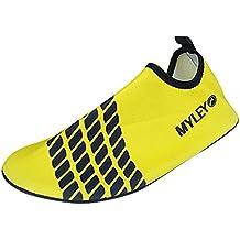 Panegy - Zapatos Agua de Natación Infantil para Niños Niñas Slip on Suave  Zapatillas Deportivos Acuático 06c4fb7b9aa