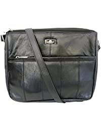 743768ae4755 Leather Handbag in Soft Black Leather - Ladies Shoulder Bag can be worn  Cross Body –