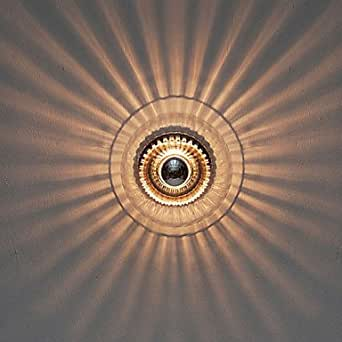 40W artistique moderne Wall Light avec verre ombre Ray of Feature lumière