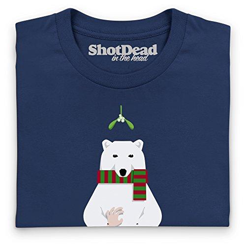 Who Killed Christmas? T-Shirt, Herren Dunkelblau