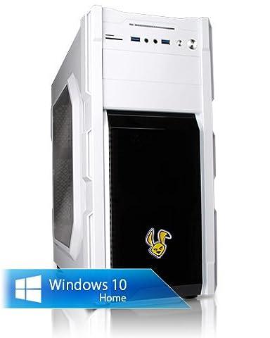 Ankermann-PC GTX 1060-HUSKY, Intel Xeon E3-1225 v5 4x3.30GHz, Gigabyte GeForce GTX 1060 G1 Gaming 6GB, 8GB DDR4 PC-2133, 120GB Kingston SSD, 1000 GB Disque Dur, Microsoft Windows 10 Home 64Bit (France), Super Silent Low Noise CPU Cooler , Cardreader 7in1, EAN 4260219656436