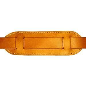 épaulette en cuir pour DELARA serviettes en cuir, coleur: cognac