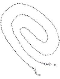 Gafas Cadena Cuerda Acollador Con Abalorios Deporte Regalo Eyeglass Chain Plata