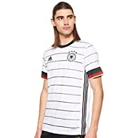 adidas Men's 2020 Germany Home Jersey Football T-Shirt, White(White/Black), X-Large