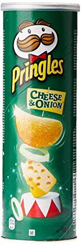 Pringles chips Cheese & Oignon 165 g - Lot de 4