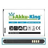 Akku-King Batterie pour Samsung Galaxy Note 3 N9005, N9002, N9000 - Li-ION remplacé B800BE - 3200mAh