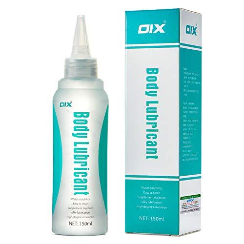 Gleitgel auf Wasserbasis 150 ml,Hypoallerges Gleitmittel rutschig und langlebig Gleitgel, Gleitcreme Premium Wet Lube für Männer/Frauen