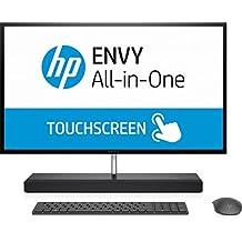 "HP ENVY 27-b154ng 2.9GHz i7-7700T 27"" 2560 x 1440Pixeles Pantalla táctil Gris PC todo en uno - Ordenador de sobremesa All in One (68,6 cm (27""), Wide Quad HD, 7ª generación de procesadores Intel® Core™ i7, 16 GB, 1256 GB, Windows 10 Home)"