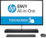HP ENVY (27-b153ng) (1GU31EA) 68,6 cm (27 Zoll / QHD-IPS Touchscreen) All-in-One Desktop PC (Intel Core i5-7400T, 8 GB RAM, 1 TB HDD, 128 GB SSD, NVIDIA GeForce GTX 950M, Windows 10 Home 64) schwarz