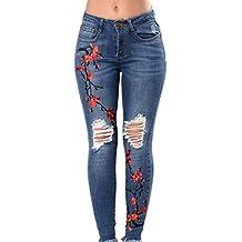 53c72d6d1209 Suchergebnis auf Amazon.de für: jeans mit stickerei damen