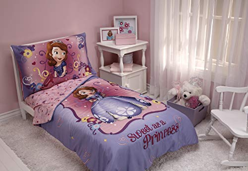 Disney Sofia 4Stück die erste Kleinkinder Set, Sweet as a princess (Disney Princess Möbel-set)