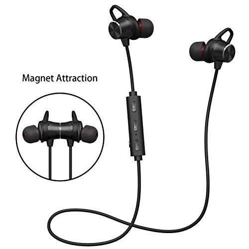 Bluetooth Kopfhörer V4.1 Stereo Sport Kopfhörer In Ear Wireless Ohrhörer Magnetische Headset 8 Stunden Spielzeit für iPhone Samsung Huawei und andere Android-Smartphones