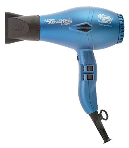 Parlux Advance Light - Secador de pelo ionico, Azul