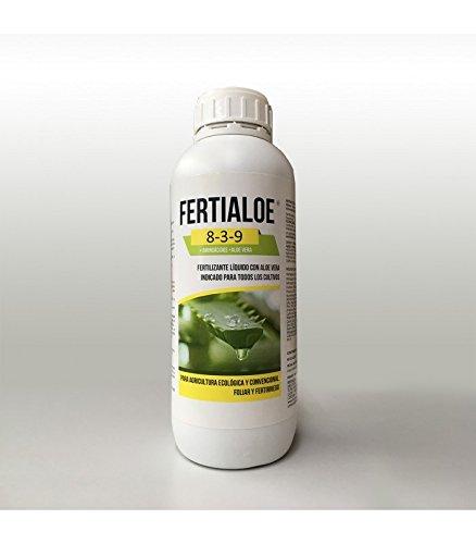 Fertialoe, fertilizante abono ecológico líquido con aloe vera - 1 litro