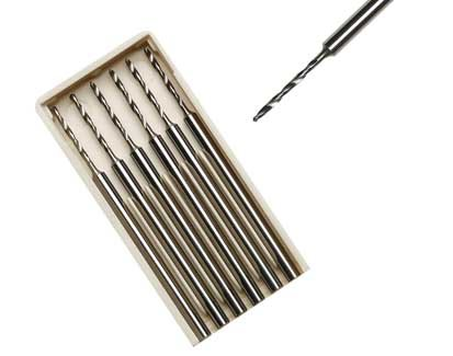 Fräsen Stahl Spiralbohrer. Schaft 2.35mm.