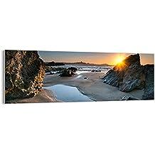 Cuadro sobre Vidrio - Cuadro de Cristal - de una Sola Pieza - 140x50cm - Foto número 3174 - Listo para Colgar - Pinturas en Vidrio - Impresiones sobre ...