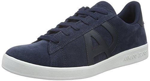 Armani Jeans935565CC501 - Sneakers Basse Uomo, Blu (BLUE PEACOAT 32335), 42