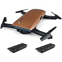 JJRC H47 ELFIE WiFi FPV 720P HD Camera Pocket Selfie Drone G-sensor Control APP Controllo di volo Pieghevole RC Drone 2 Batterie