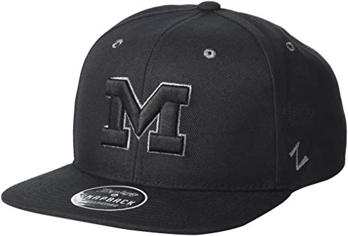 Zephyr NCAA Herren Tailored Stretch Cap, Herren, Tailored, grau, Medium/Large -
