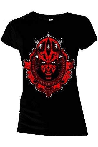 Star Wars - Camiseta - para Mujer Darth Maul
