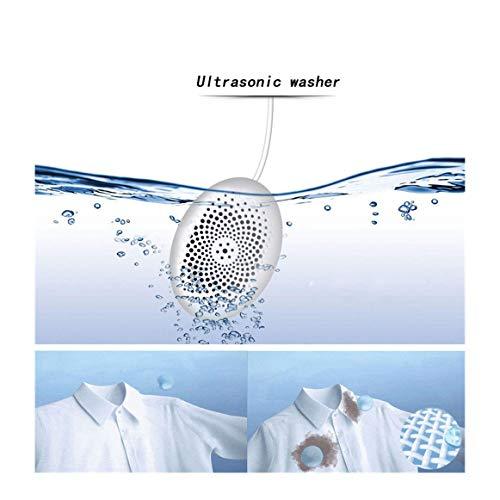 Ultraschall Vibration Waschmaschine Fleckenentferner USB Ultraschall Wäsche Reinigung Maschine Turbine Waschmaschine für Tra ()