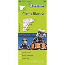 Carte Zoom 123 Espana Costa Blanca