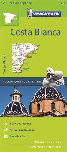 Carte Espana Costa Blanca Michelin