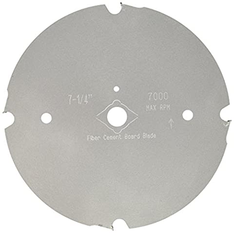 Diamond Products Core Cut 71787 7 1/4-Inch by 0.085 by 7/8 Fiber Cement Board Blade