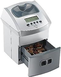 General Office Münzen Zähler: Mobiler Euro-Münzzähler mit Batteriebetrieb (Spardose mit Münzzähler)