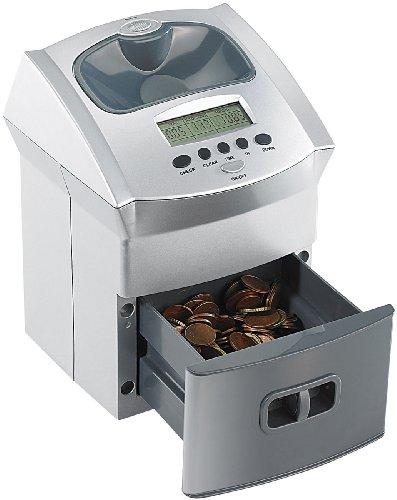General Office Münzen Zähler: Mobiler Euro-Münzzähler mit Batteriebetrieb (Geldzähler)