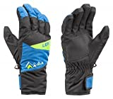 Leki Monto Junior, Size:6;Color:ozean-lime-schwarz